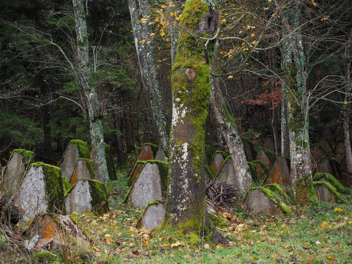 an old military cemetery